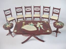 Dollhouse Dining Room Furniture 242 Best Renwal Dollhouse Furniture Images On Pinterest