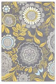 Gray And Yellow Kitchen Rugs Amazing Gray And Yellow Kitchen Rugs With Shop Crochet Rug