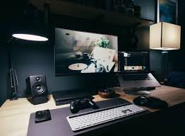 ultimate gaming desk setup gaming desks gaming setup desks and desk setup