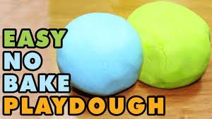 how to make no cook playdough no cook play doh youtube