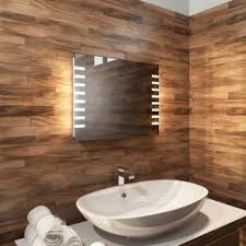 Heated Bathroom Mirror With Light Heated Bathroom Mirrors Built In Demister Designed In The Uk