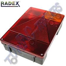 radex 6800 righthand 5 function rear light plug in towing and
