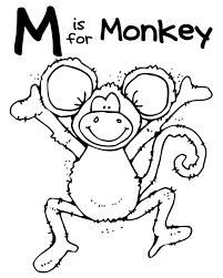 hanging monkey template cliparts co