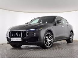 suv maserati black used 2017 maserati levante 3 0 td 4x4 5dr for sale in essex