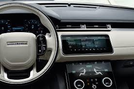 Classic Range Rover Interior 2018 Land Rover Range Rover Velar First Look