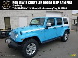 jeep chief 2017 chief blue jeep wrangler unlimited chief edition 4x4