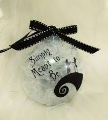 tim burtons nightmare before inspired ornament w