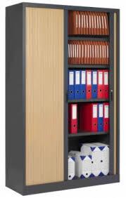 armoire bureau discount armoire haute de bureau avec portes rideaux