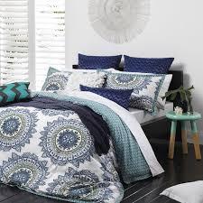 cabo teal duvet cover set bed bath beyond