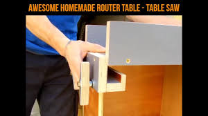 Table Saw Router Table Homemade Router Table U0026amp Table Saw