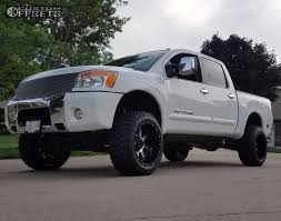 nissan pickup stance 2008 nissan titan gear alloy big block cst suspension lift 5in
