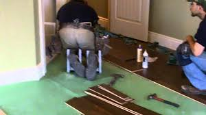 flooring contractor using the k2s knee pad protection system youtube