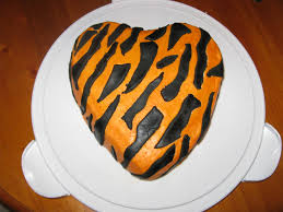 how do you make a tiger cake sweets photos blog