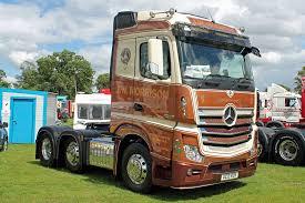 j w morrison ac13 ros scotland uk mercedes benz and biggest truck