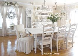 Shabby Chic Dining Room Tables Dining Room Chair Slipcovers Shabby Chic Dining Room Ideas