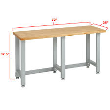 dimensions of the seville classics 1 75 inch solid maple wood work