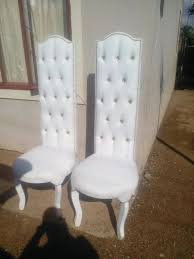 wedding chairs his and s wedding chairs for sale randfontein gumtree