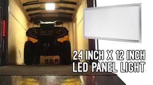 rv 12v light fixtures led panel light vehicle and trailer 12 volt led task light 2ft x