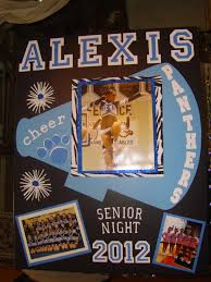 senior night poster wanna do this for the eight grade girls at