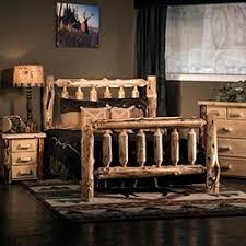 rustic cedar log furniture for all rooms from woodland creek u0027s log