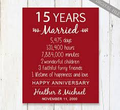 70 jã hriger hochzeitstag 15th anniversary gift 15 years wedding anniversary