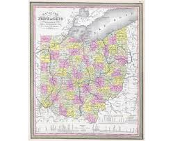 Map Of The State Of Ohio by Maps Of Ohio State Collection Of Detailed Maps Of Ohio State