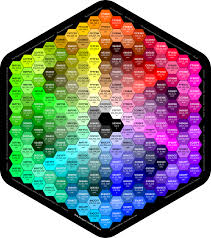 color codes the hexagon colors chart web safe color codes web safe color codes