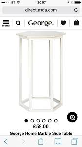 Asda Side Table Marble Side Table In Liverpool Merseyside Gumtree