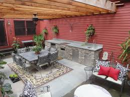 patio kitchen ideas brilliant ideas of outdoor kitchen ideas for small spaces brown