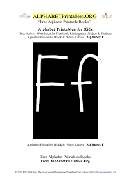 letter f alphabet printables for kids alphabet printables org