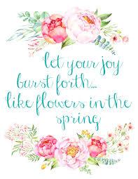 free printable spring peony art u0026 easter art the happy housie