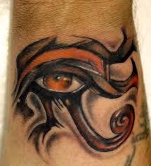 color eye of horus on wrist tattooshunt com