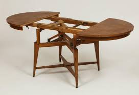 marcel gascoin 1950s convertible coffee centre dining table mid in