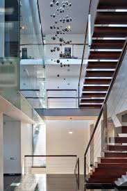 architecture bright interior with floor to ceiling windows and