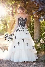 Black And White Wedding Dress Black And White Wedding Dresses U0026 Bridal Gowns Hitched Co Uk