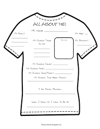 about me worksheet pinterest about me all about me