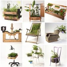 Furniture Recycling by Furnitures Recycled Into Beautiful Planters By Peter Bottazzi