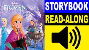 frozen storybook frozen story book aloud story