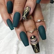 best 25 egyptian nails ideas on pinterest matte green nails