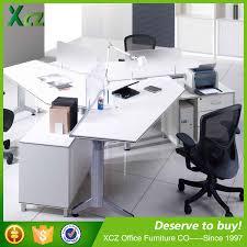 desk for 3 people 3 people office desk wholesale office desk suppliers alibaba