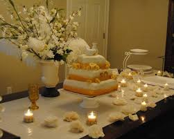 simple golden wedding decorations ideas home design wonderfull