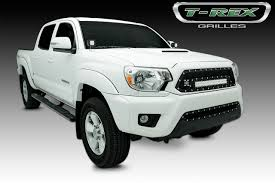 tacoma grill light bar t rex tacoma torch series led light grille 1 20 led bar formed