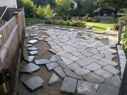stone patio dover projects how to build a stone patio