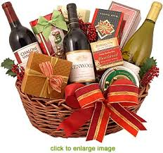 gift baskets christmas christmas time and wine gift basket
