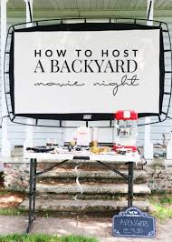How To Make A Backyard Movie Screen by How To Make A Backyard Movie Screen Homestead U0026 Survival
