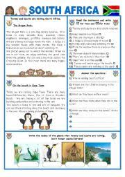 english teaching worksheets south africa