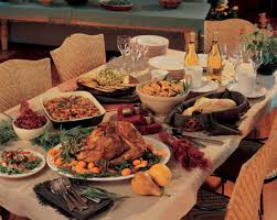 a twist on the traditional thanksgiving menu