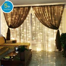 amazon com amars safe voltage bedroom string led curtain lights