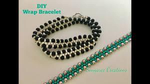 beaded wrap bracelet images Diy beaded wrap bracelet super easy tutorial jpg