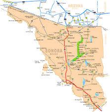 San Carlos Mexico Map by Map Of Sonora Sailsancarlos Com